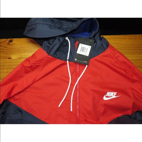 58961d316 Nike Jackets & Coats   Air Windrunner Jacket Navy Red White Size 2xl ...